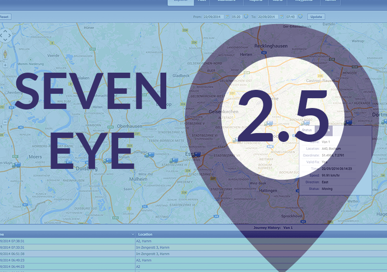 Seven Eye Vehicle Tracking & Driver Performance