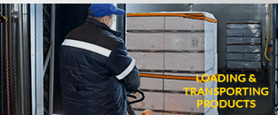 Loading & Transporting Cold Chain Products