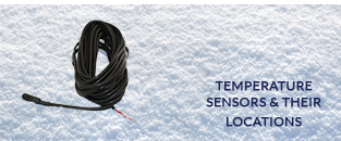 Air temperature sensors and their location